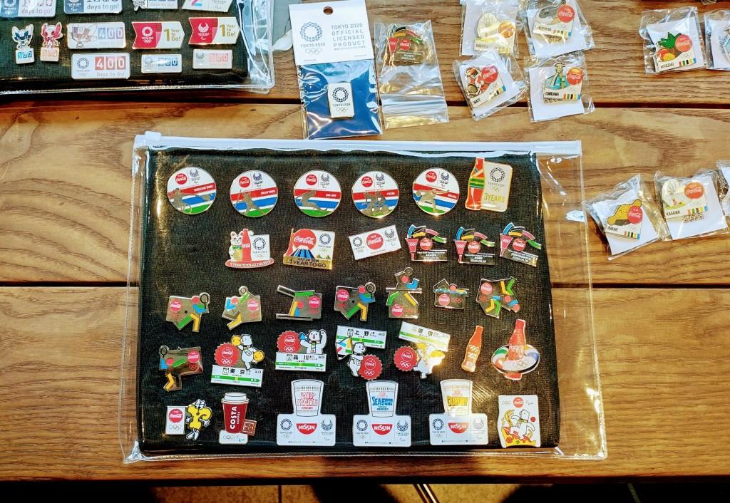 コカ・コーラ 東京オリンピック ピンズ22